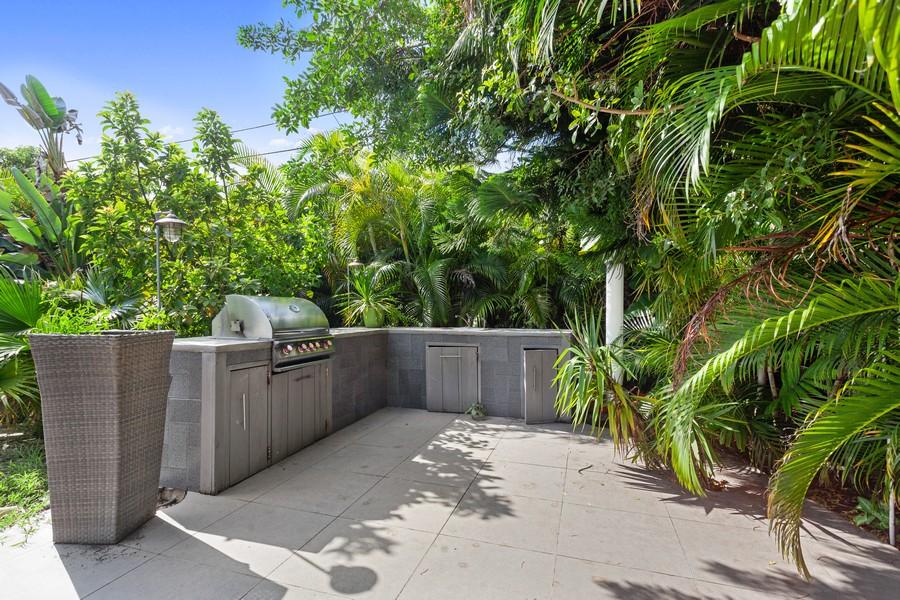 Real Estate Photography - 620 North Shore Drive, Miami Beach, FL, 33141 - Back Yard