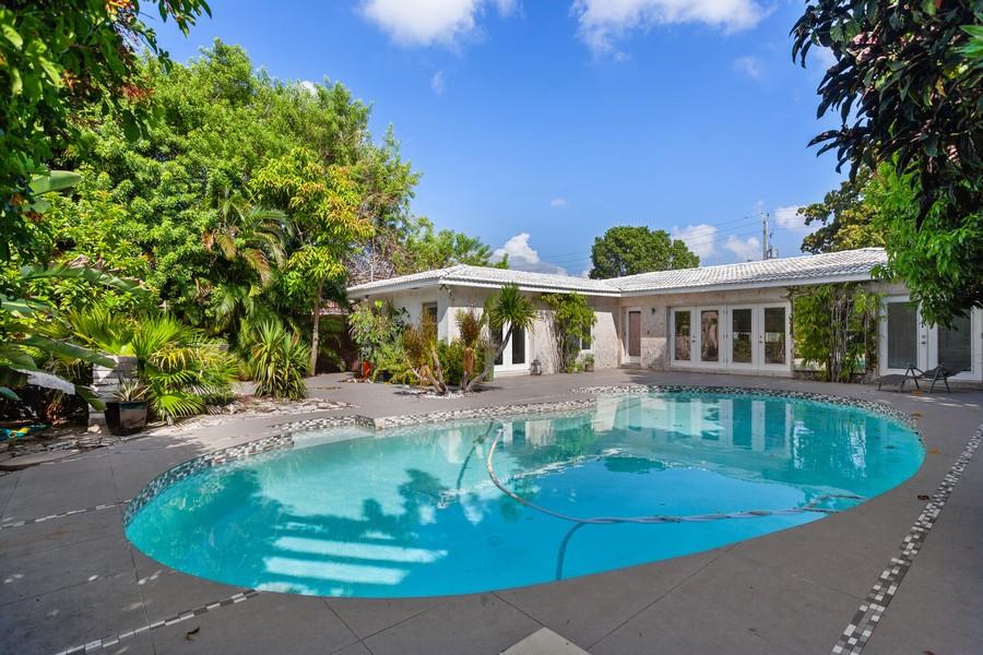 Real Estate Photography - 620 North Shore Drive, Miami Beach, FL, 33141 - Pool