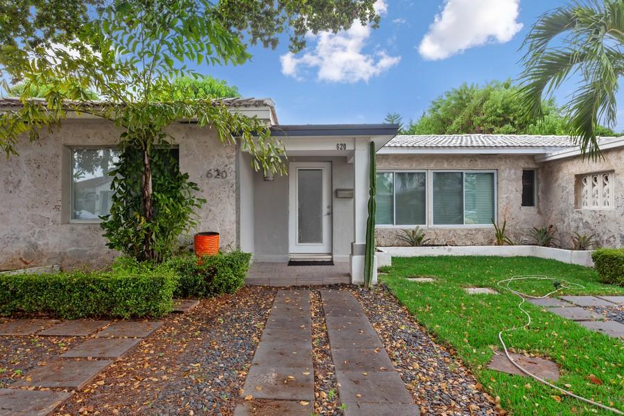 Real Estate Photography - 620 North Shore Drive, Miami Beach, FL, 33141 - Front View