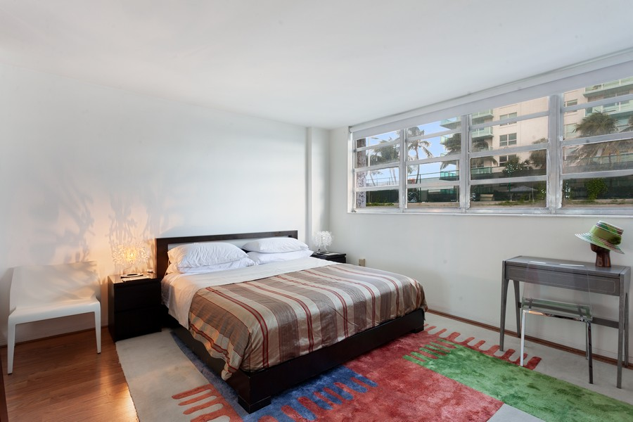 Real Estate Photography - 800 West Avenue, #608, Miami Beach, FL, 33139 - Bedroom