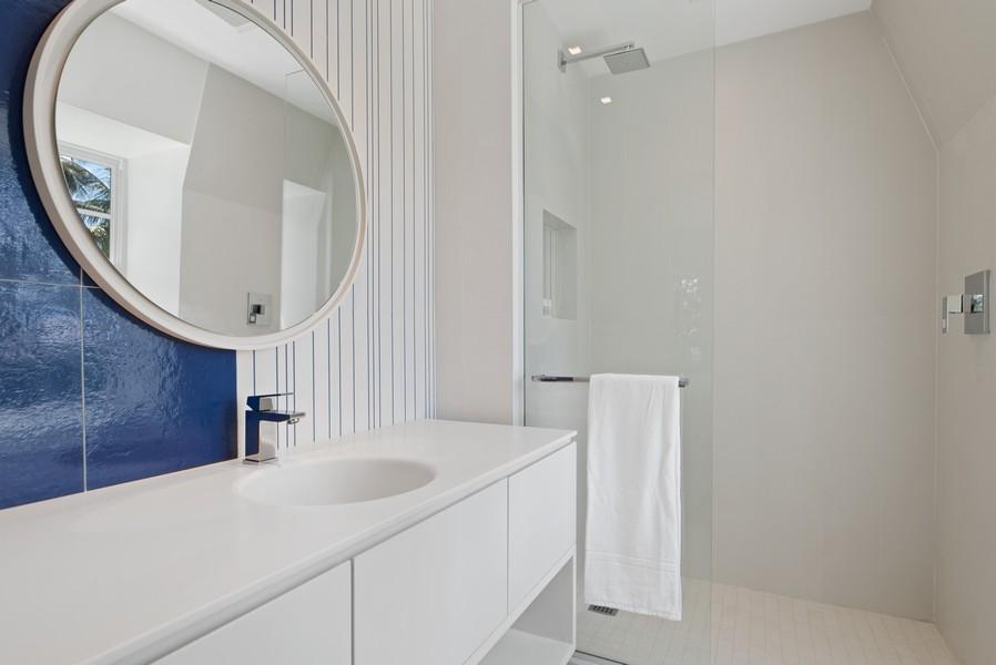Real Estate Photography - 3 Via Los Incas, Palm Beach, FL, 33480 - 3rd Bathroom