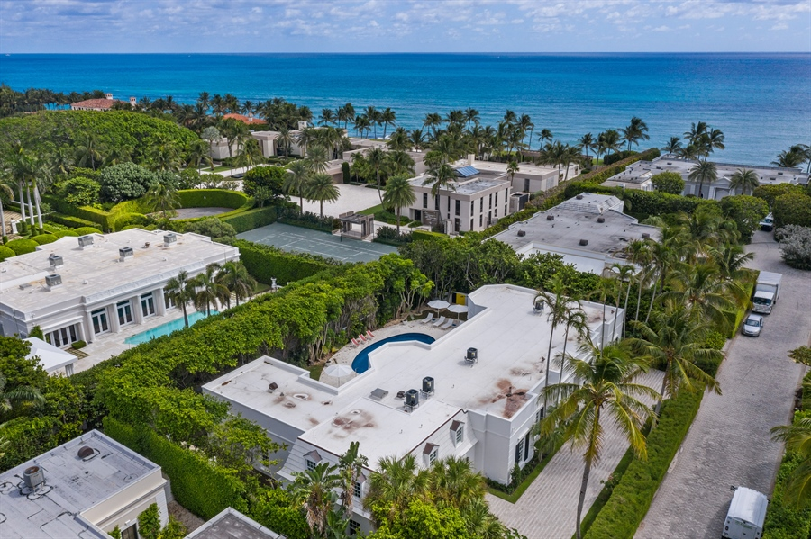Real Estate Photography - 3 Via Los Incas, Palm Beach, FL, 33480 - Aerial View