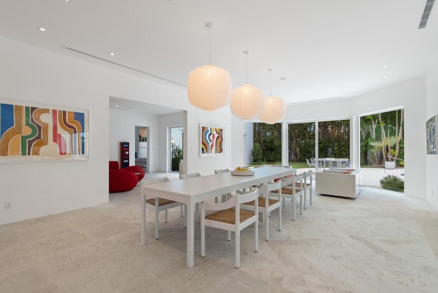 Real Estate Photography - 3 Via Los Incas, Palm Beach, FL, 33480 - Dining Room