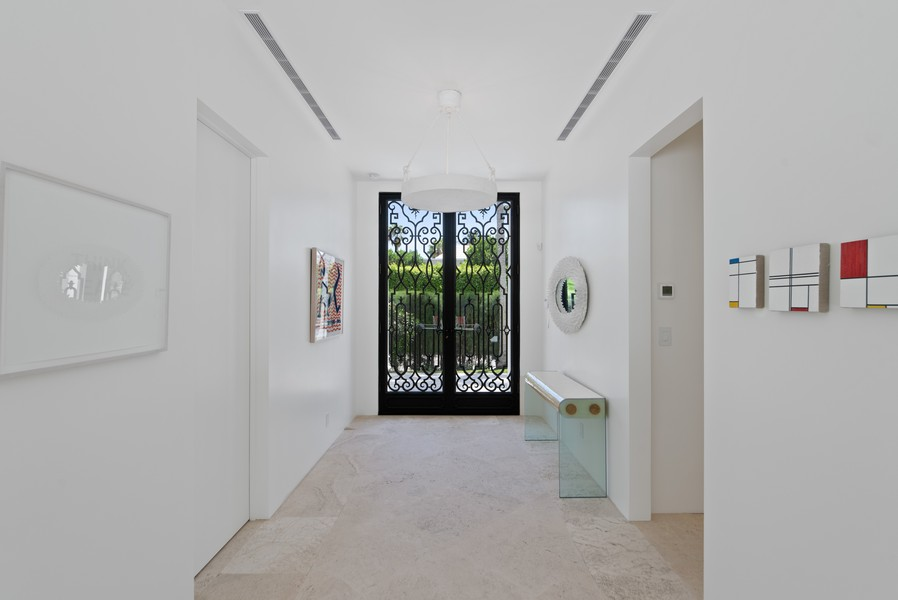 Real Estate Photography - 3 Via Los Incas, Palm Beach, FL, 33480 - Foyer