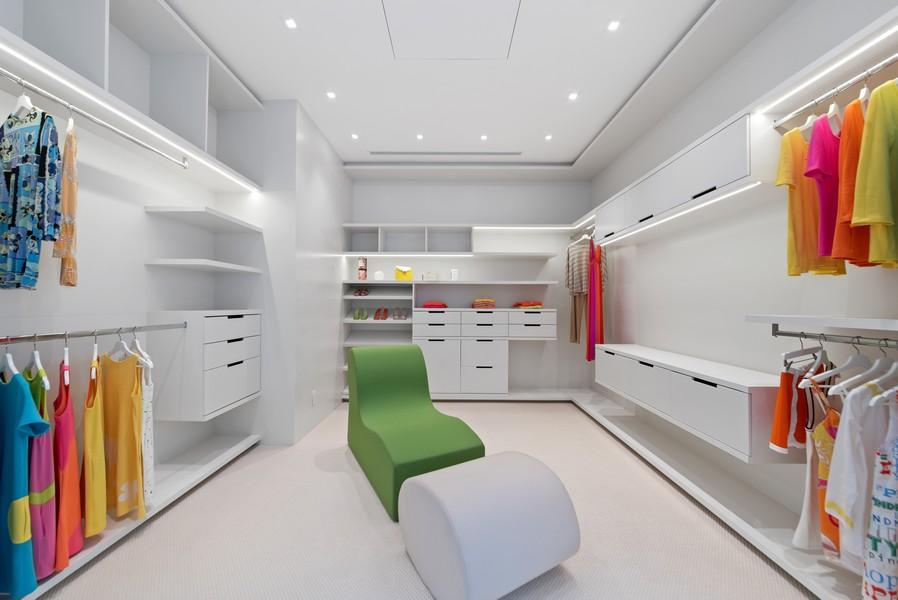 Real Estate Photography - 3 Via Los Incas, Palm Beach, FL, 33480 - Master Bedroom Closet