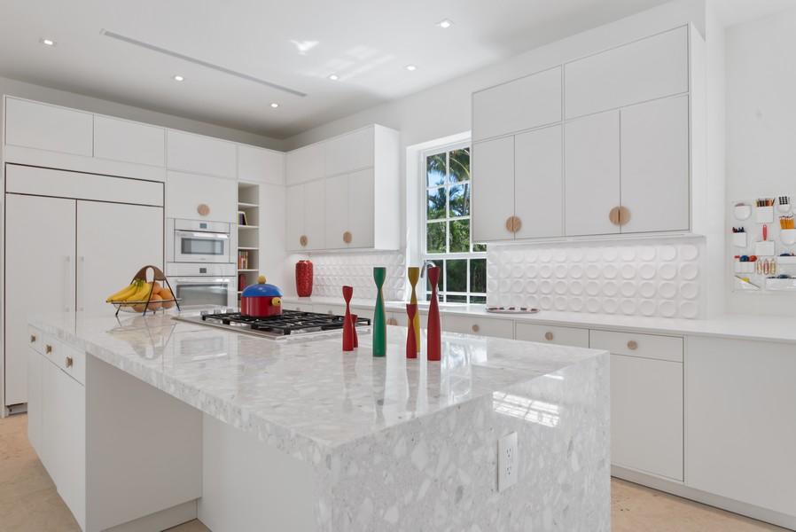 Real Estate Photography - 3 Via Los Incas, Palm Beach, FL, 33480 - Kitchen