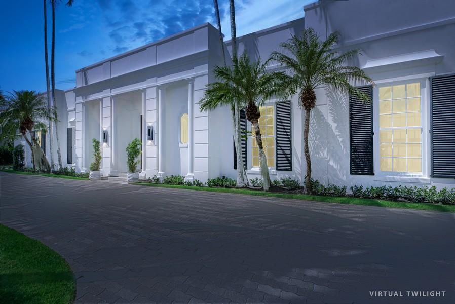 Real Estate Photography - 3 Via Los Incas, Palm Beach, FL, 33480 - Front View