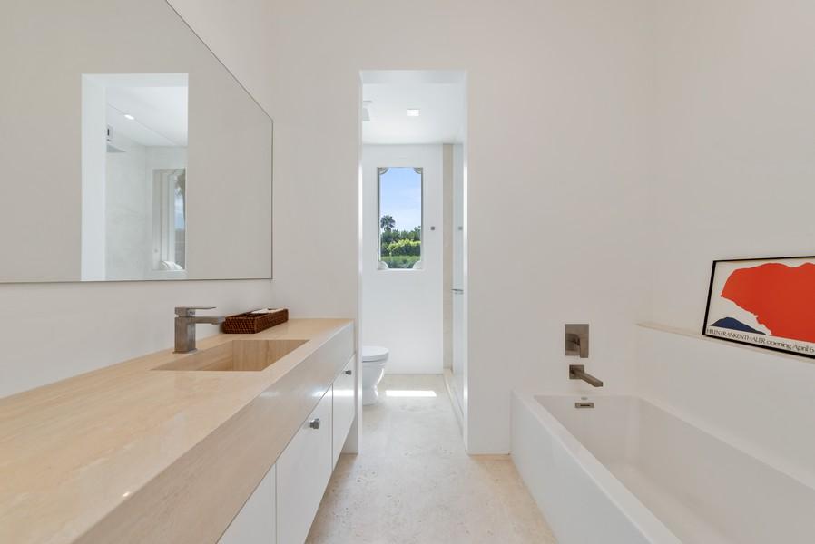Real Estate Photography - 3 Via Los Incas, Palm Beach, FL, 33480 - Bathroom