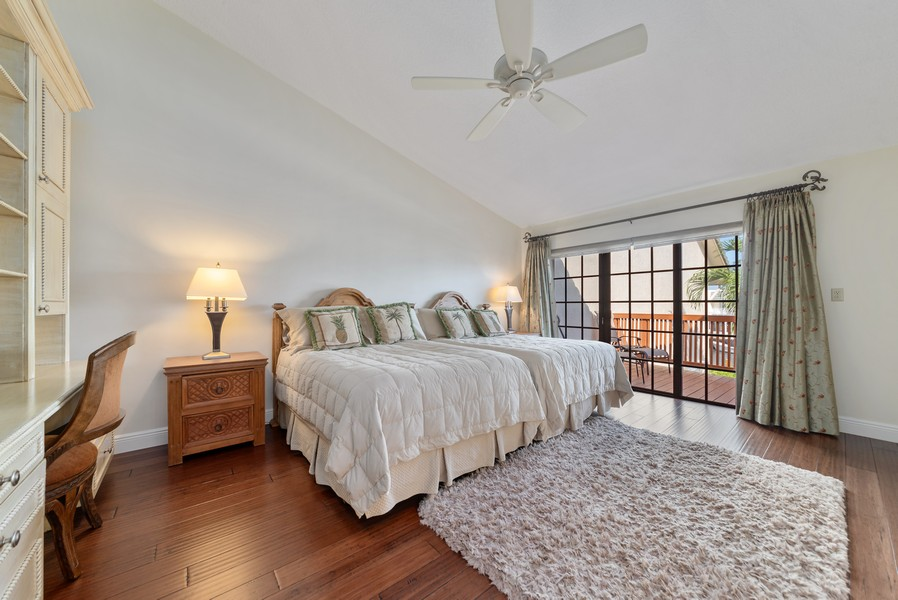 Real Estate Photography - 1055 Boca Cove Lane, Highland Beach, FL, 33487 - Master Bedroom