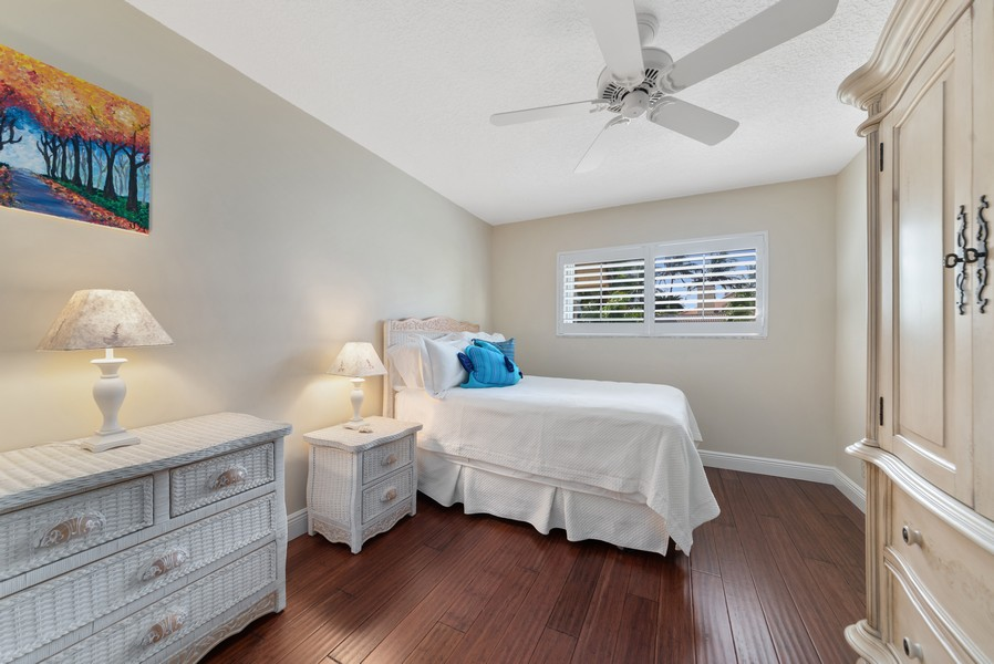 Real Estate Photography - 1055 Boca Cove Lane, Highland Beach, FL, 33487 - 2nd Bedroom