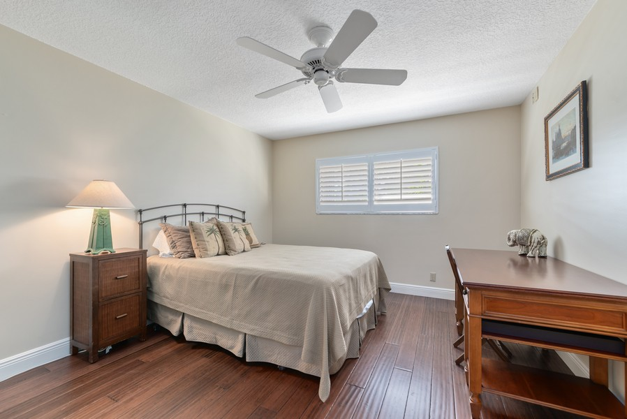 Real Estate Photography - 1055 Boca Cove Lane, Highland Beach, FL, 33487 - 3rd Bedroom