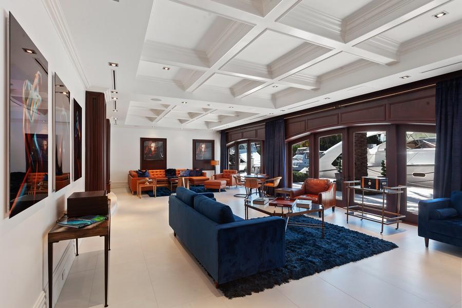 Real Estate Photography - 315 Royal Plaza Drive, Fort Lauderdale, FL, 33301 - Living Room