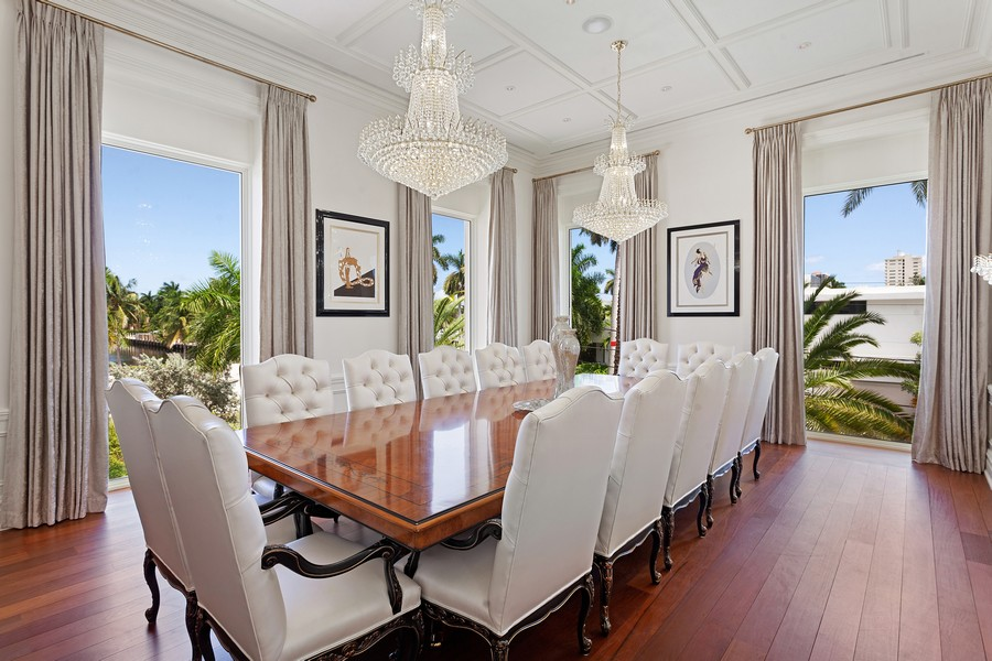 Real Estate Photography - 315 Royal Plaza Drive, Fort Lauderdale, FL, 33301 - Dining Room