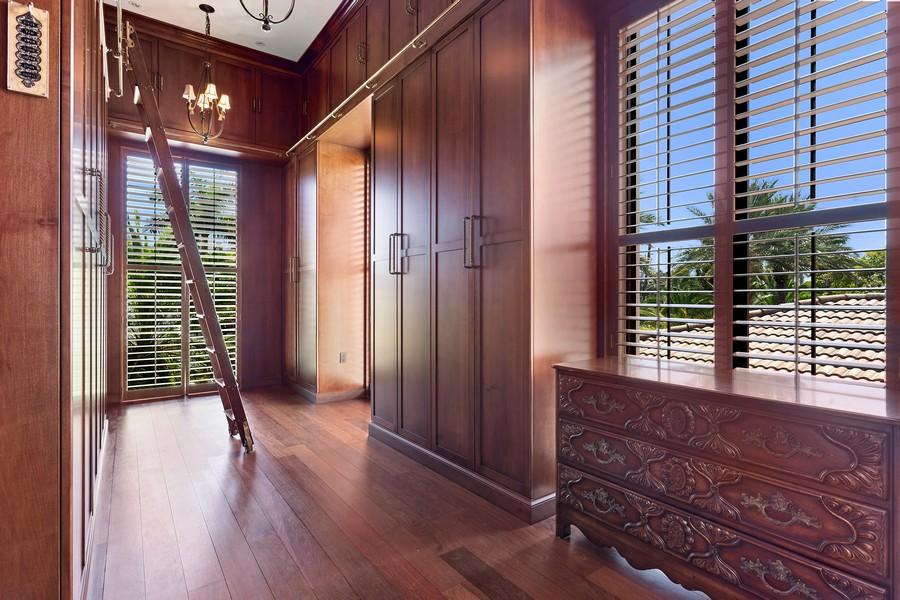 Real Estate Photography - 315 Royal Plaza Drive, Fort Lauderdale, FL, 33301 - Master Bedroom Closet