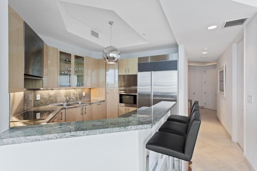Real Estate Photography - 100 S Pointe Dr, Miami beach, FL, 33139 - Kitchen