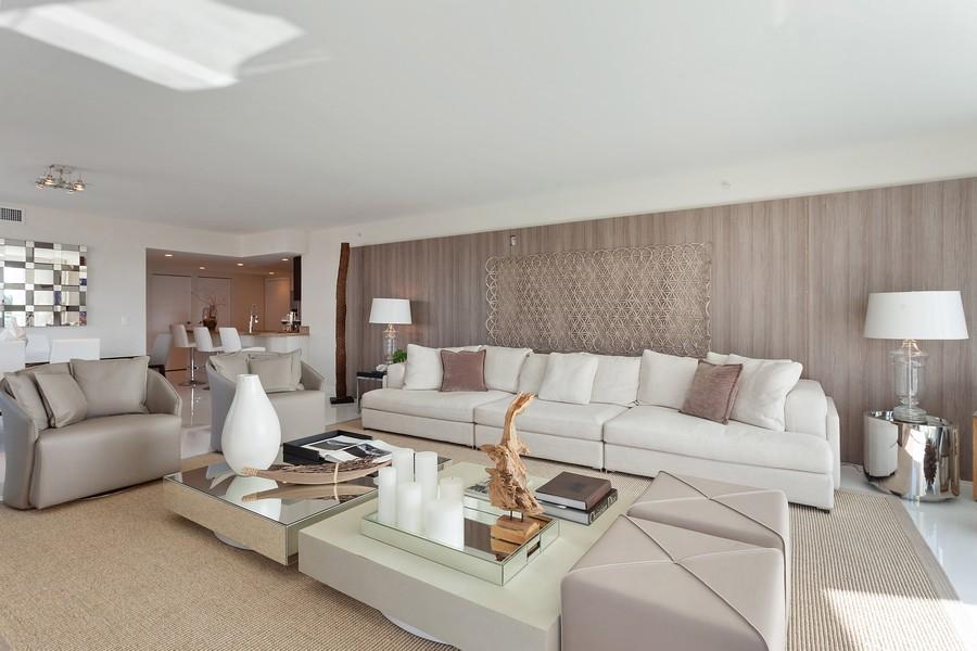 Real Estate Photography - 9400 W. Bay Harbor Drive, #504, Bay Harbor Islands, FL, 33154 - Living Room