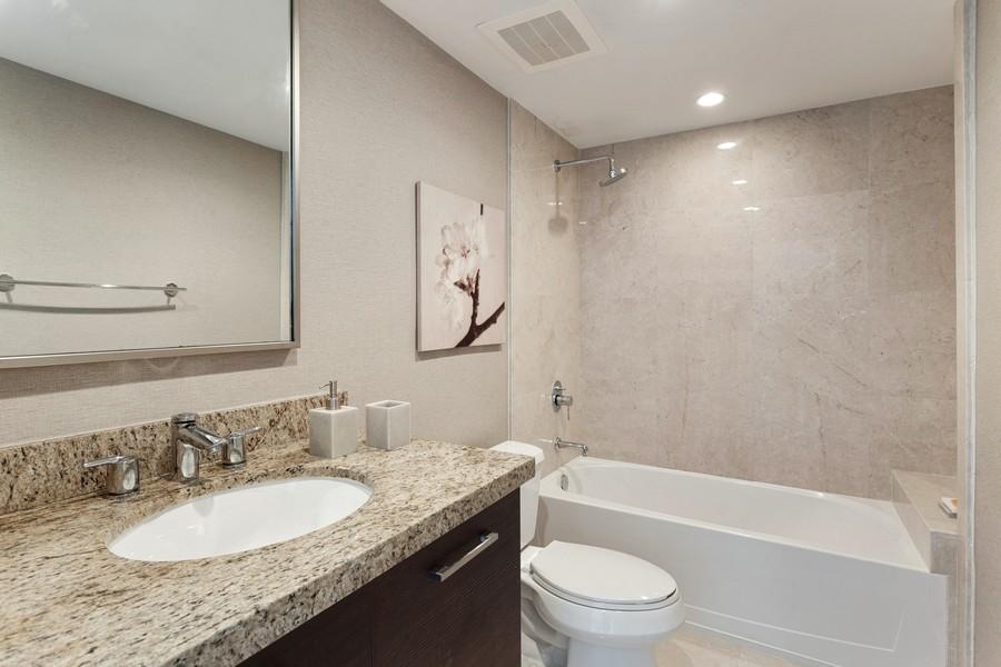 Real Estate Photography - 9400 W. Bay Harbor Drive, #504, Bay Harbor Islands, FL, 33154 - 3rd Bathroom