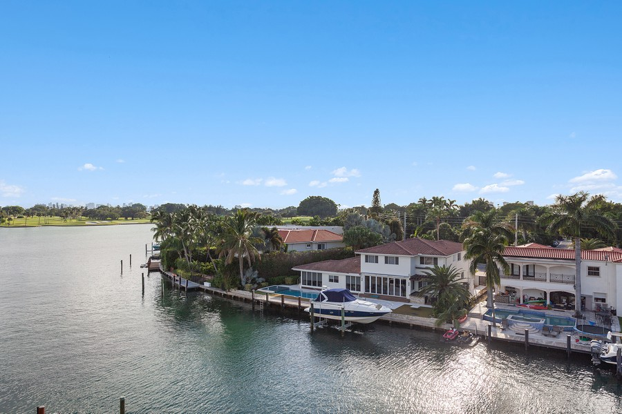 Real Estate Photography - 9400 W. Bay Harbor Drive, #504, Bay Harbor Islands, FL, 33154 - View