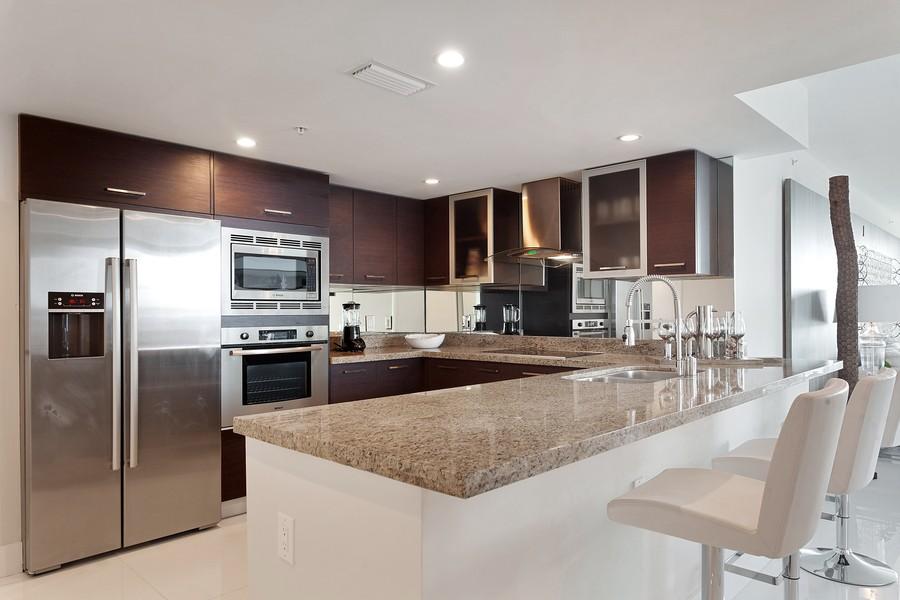 Real Estate Photography - 9400 W. Bay Harbor Drive, #504, Bay Harbor Islands, FL, 33154 - Kitchen