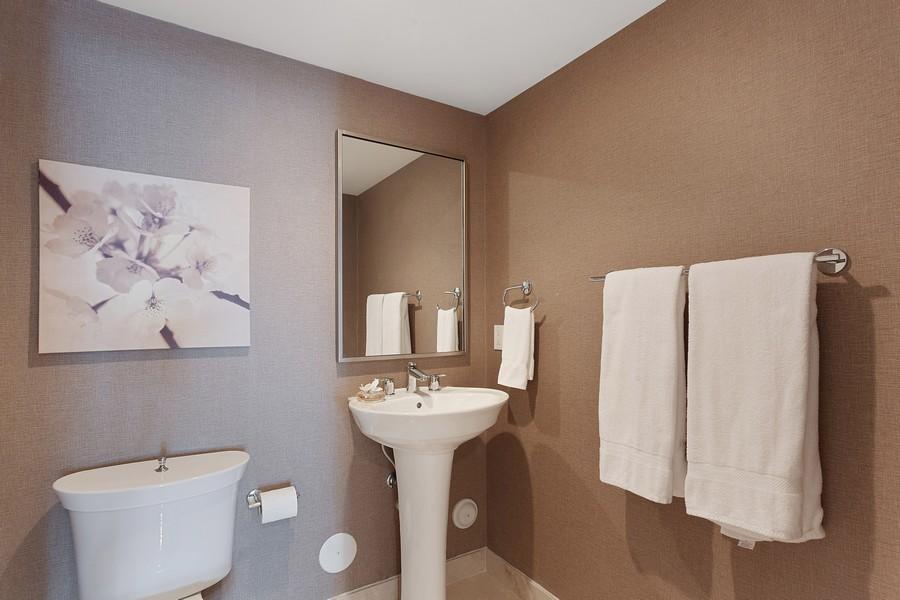 Real Estate Photography - 9400 W. Bay Harbor Drive, #504, Bay Harbor Islands, FL, 33154 - Half Bath