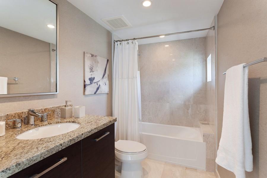 Real Estate Photography - 9400 W. Bay Harbor Drive, #504, Bay Harbor Islands, FL, 33154 - Bathroom