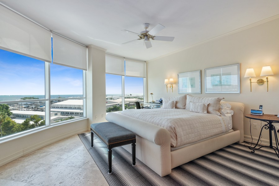 Real Estate Photography - 2645 South Bayshore Drive #703, Miami, FL, 33133 - Master Bedroom