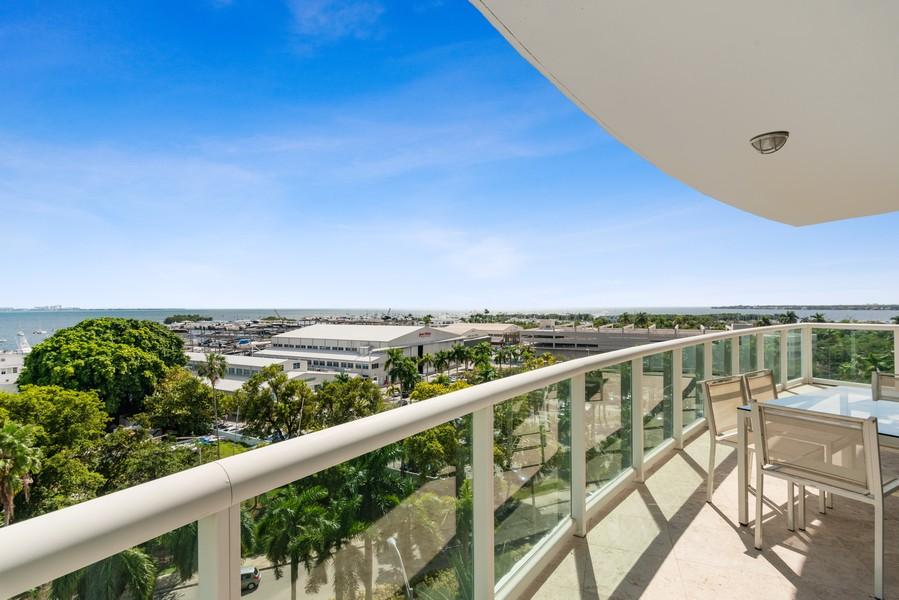Real Estate Photography - 2645 South Bayshore Drive #703, Miami, FL, 33133 - Bay View