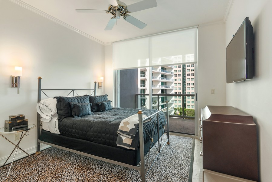 Real Estate Photography - 2645 South Bayshore Drive #703, Miami, FL, 33133 - 2nd Bedroom