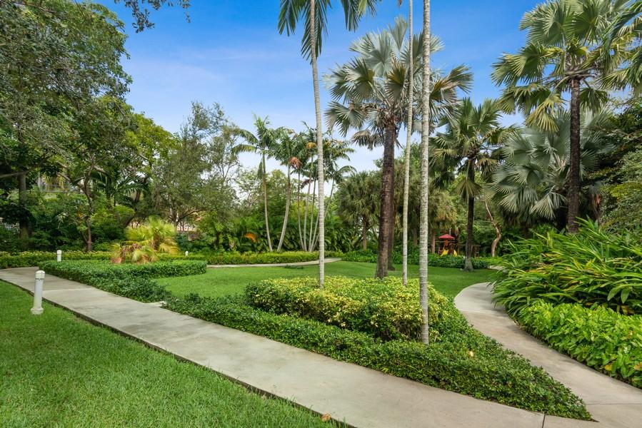 Real Estate Photography - 2645 South Bayshore Drive #703, Miami, FL, 33133 - Back Yard