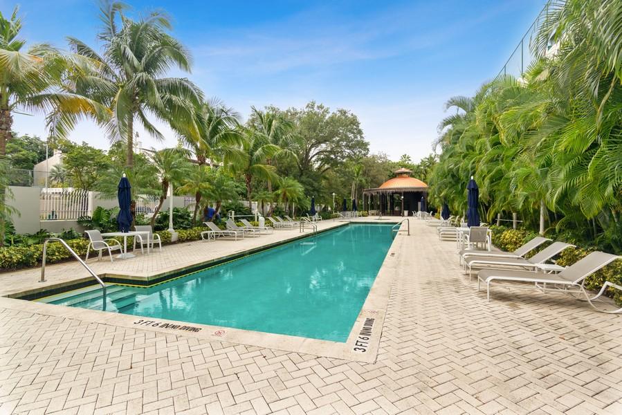 Real Estate Photography - 2645 South Bayshore Drive #703, Miami, FL, 33133 - Pool
