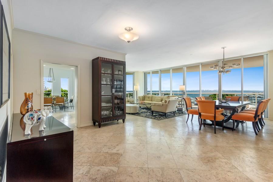 Real Estate Photography - 2645 South Bayshore Drive #703, Miami, FL, 33133 - Entryway