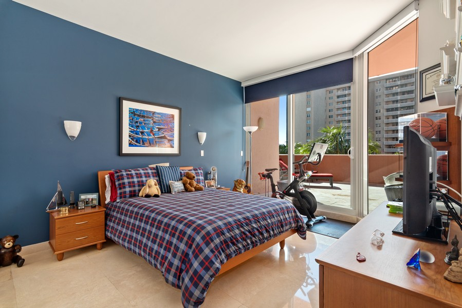 Real Estate Photography - 60 Edgewater Drive #3E, Coral Gables, FL, 33133 - 3rd Bedroom