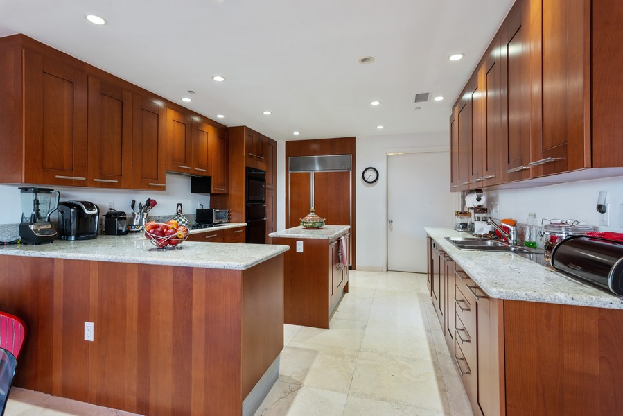 Real Estate Photography - 60 Edgewater Drive #3E, Coral Gables, FL, 33133 - Kitchen
