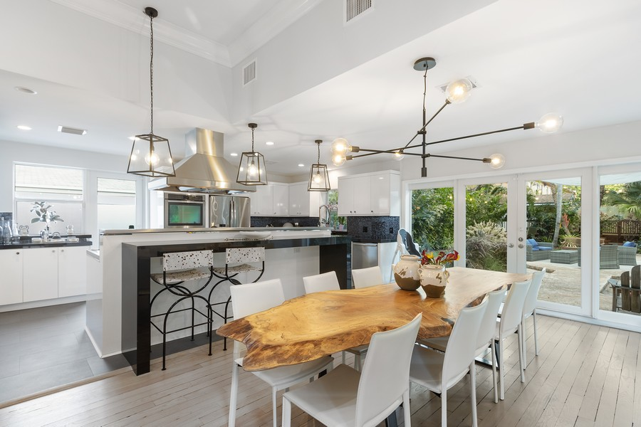 Real Estate Photography - 2301 S Miami Ave, Miami, FL, 33129 - Dining Room