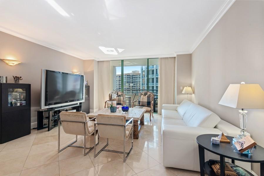 Real Estate Photography - 3400 SW 27th Avenue, #1104, Miami, FL, 33133 - Living Room