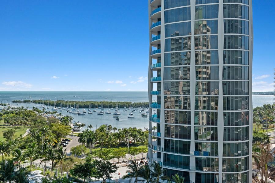 Real Estate Photography - 3400 SW 27th Avenue, #1104, Miami, FL, 33133 - Bay View