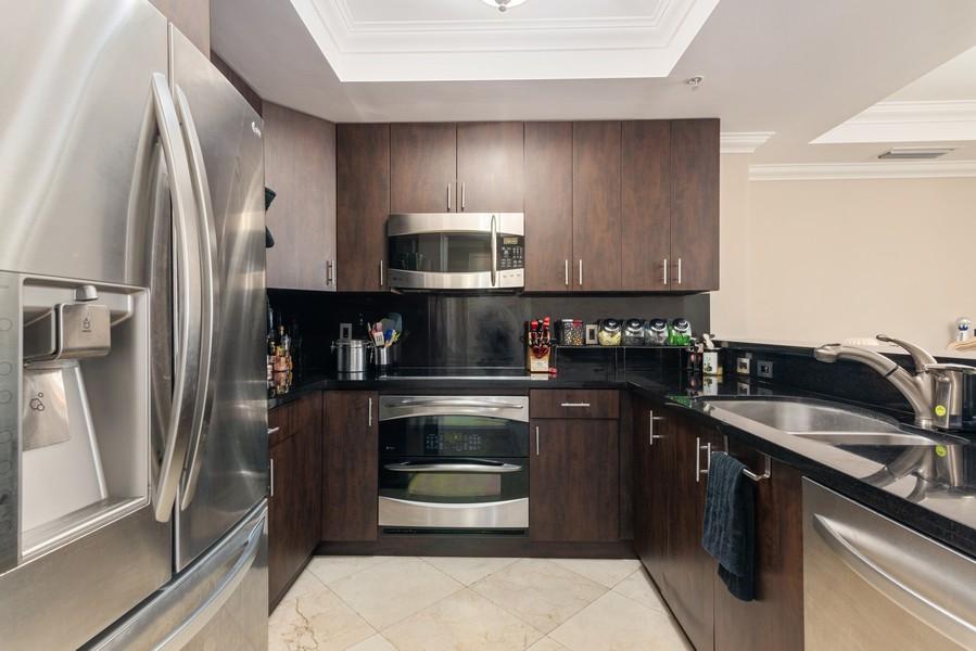 Real Estate Photography - 3400 SW 27th Avenue, #1104, Miami, FL, 33133 - Kitchen