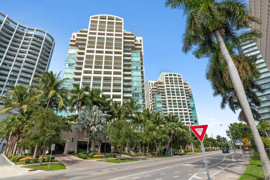 Real Estate Photography - 3400 SW 27th Avenue, #1104, Miami, FL, 33133 - Front View