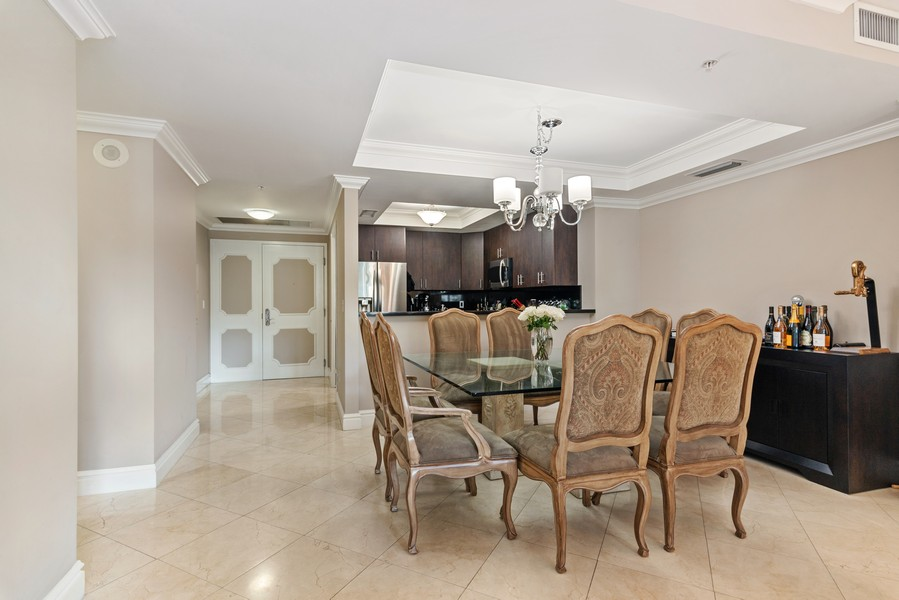 Real Estate Photography - 3400 SW 27th Avenue, #1104, Miami, FL, 33133 - Kitchen / Dining Room