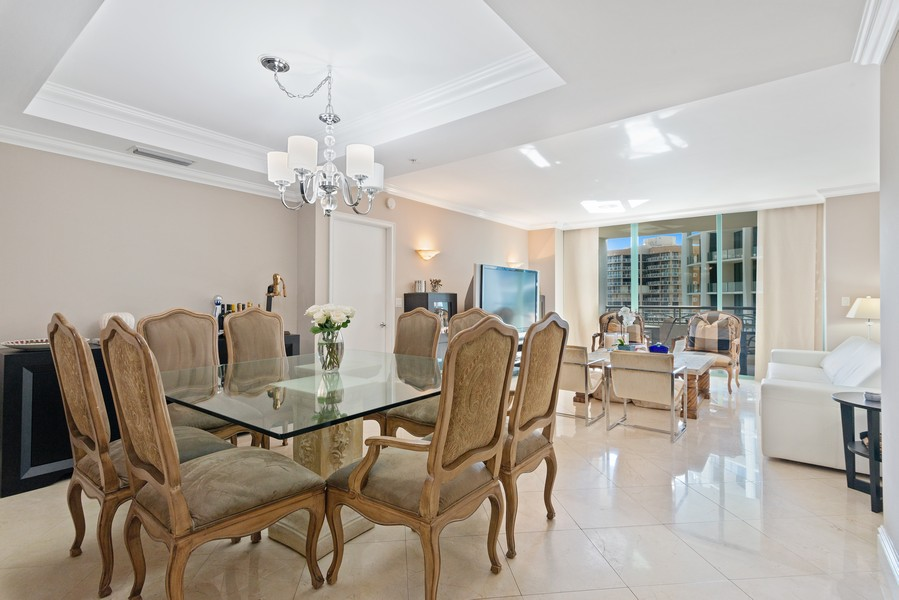 Real Estate Photography - 3400 SW 27th Avenue, #1104, Miami, FL, 33133 - Living Room / Dining Room
