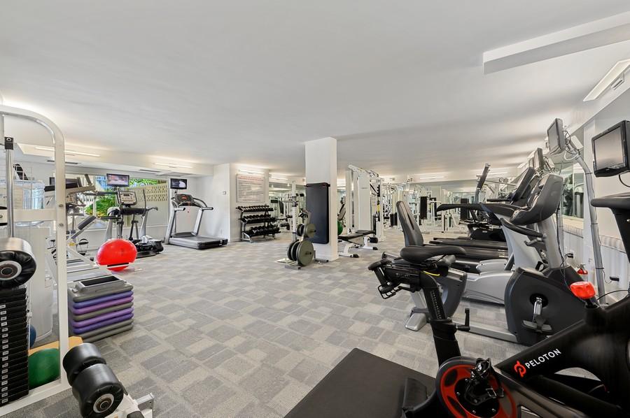 Real Estate Photography - 100 Sunrise Avenue, #218, Palm Beach, FL, 33480 - Fitness Center