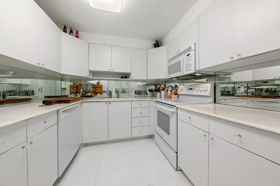 Real Estate Photography - 100 Sunrise Avenue, #218, Palm Beach, FL, 33480 - Kitchen