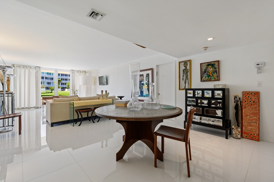 Real Estate Photography - 100 Sunrise Avenue, #218, Palm Beach, FL, 33480 - Living Room/Dining Room