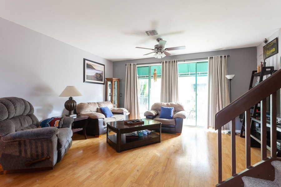 Real Estate Photography - 1390 NW 126th Way, Sunrise, FL, 33323 - Living Room