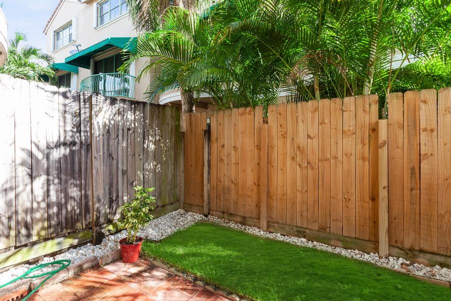 Real Estate Photography - 1390 NW 126th Way, Sunrise, FL, 33323 - Back Yard