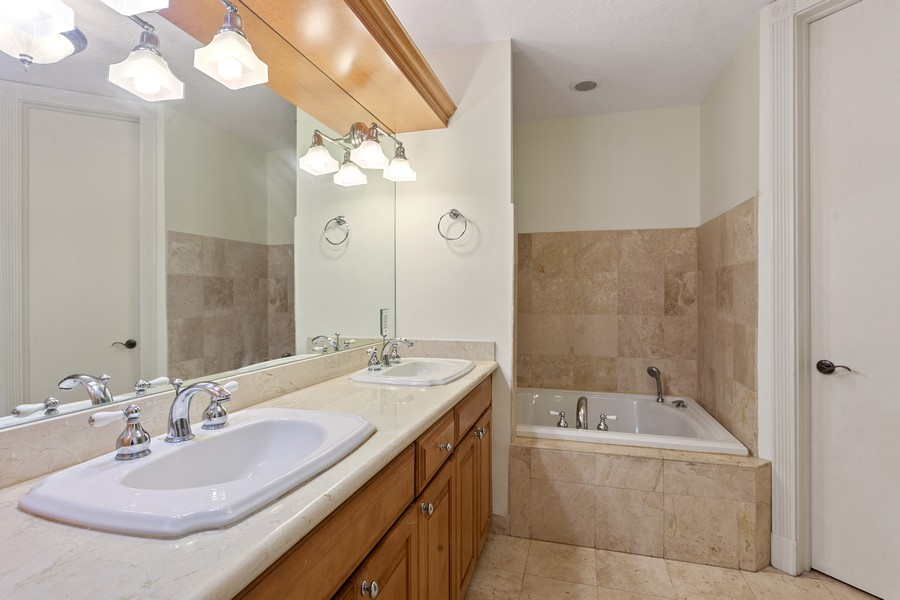 Real Estate Photography - 2401 Anderson Road, #2, Coral Gables, FL, 33134 - Master Bathroom