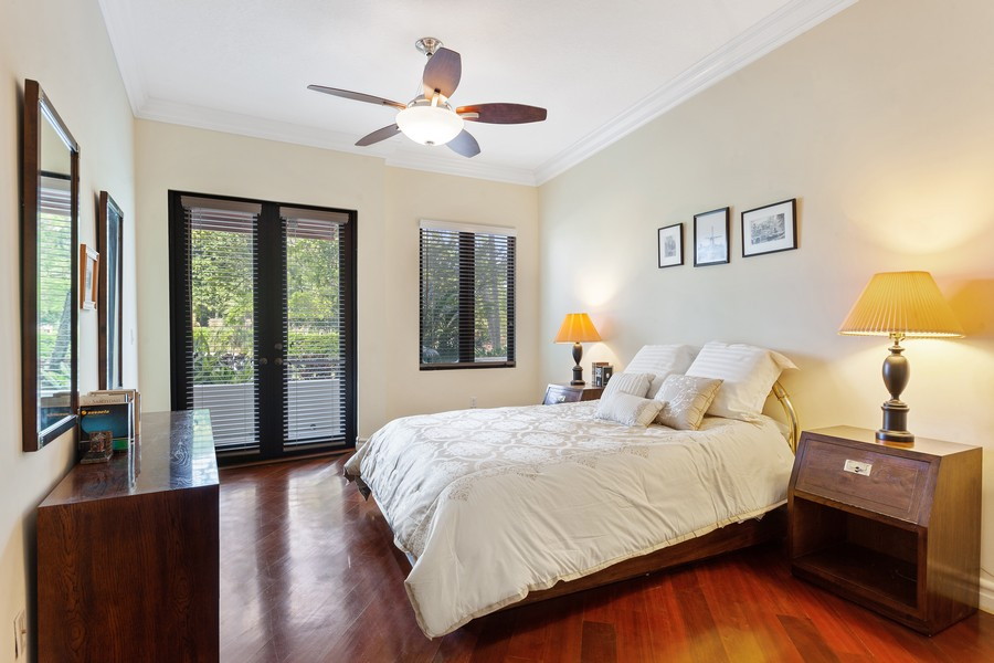 Real Estate Photography - 2401 Anderson Road, #2, Coral Gables, FL, 33134 - Master Bedroom