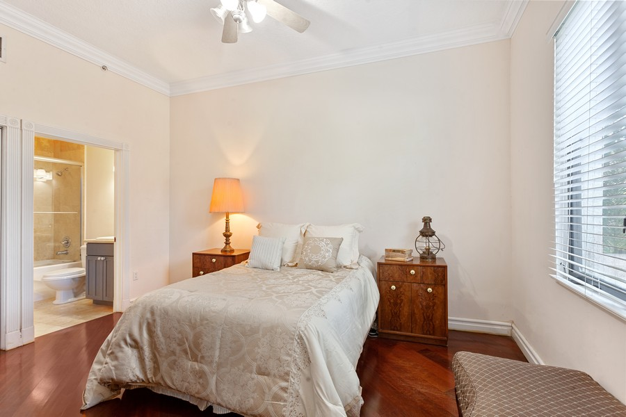 Real Estate Photography - 2401 Anderson Road, #2, Coral Gables, FL, 33134 - Bedroom