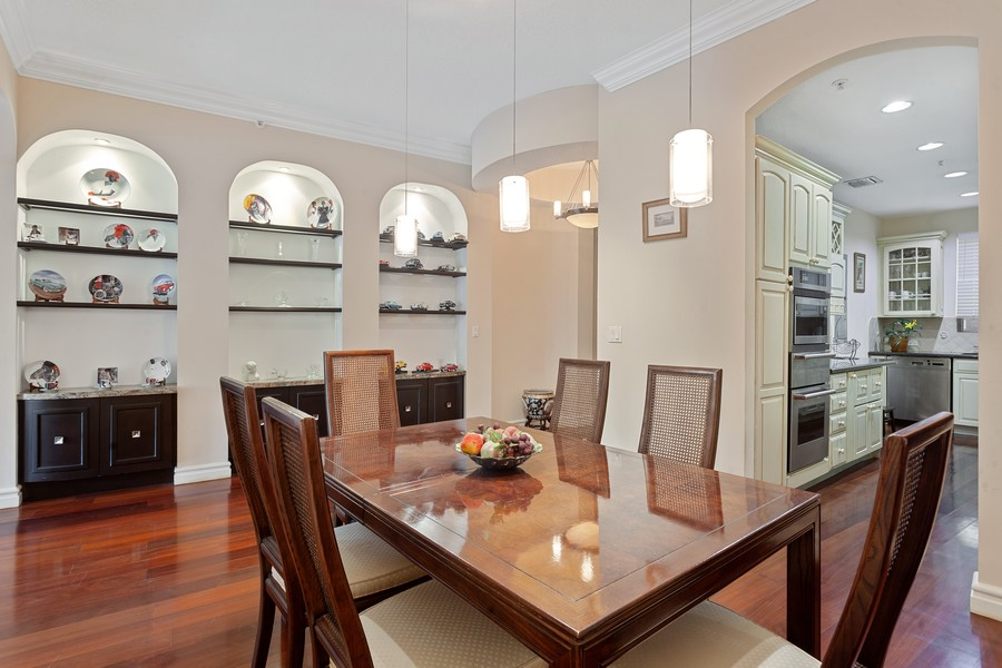 Real Estate Photography - 2401 Anderson Road, #2, Coral Gables, FL, 33134 - Dining Room