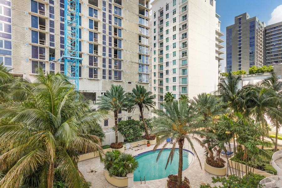 Real Estate Photography - 253 NE 2nd Street 1108, Miami, FL, 33132 - View